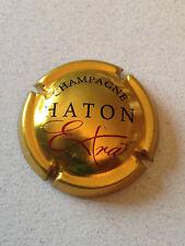 Capsule de champagne HATON (6. fond or-jaune)