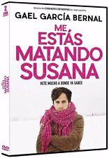 Me Estas Matando Susasa DVD NEW Gael Garcia Bernal (Vete Mucho A Donde Ya Sabes)