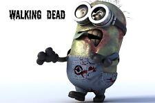 Walking Dead Zombie Minion FRIDGE MAGNET (2 x 3 inches)(AA)