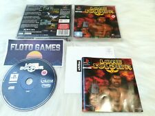 Jeu Lone Soldier pour Sony Playstation PS1 PAL Complet CIB - Floto Games