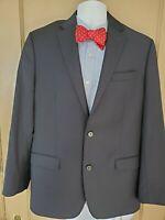 RALPH LAUREN BLACK LABEL navy 100% Wool Mens Blazer Sport Coat Jacket - 40 R