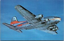 Trans World & Western Airlines Boeing 307 Stratoliner  Post Card - Vintage -