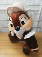 """Vintage Euro Disney 12"""" Chip From Chip & Dale Rescue Rangers Soft / Plush Toy F3"""