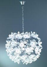 Blüten Pendelleuchte / LED möglich / TOP Design / weiß
