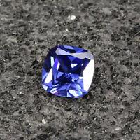Tansanit Tanzanite AAAAA VVS Loose Gemstone Saphir 6.96ct Blau Geschenk 10mm DE