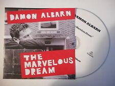 ♫ FRENCH PROMO ONLY ♫ DAMON ALBARN : THE MARVELOUS DREAM [ CD SINGLE PORT 0€ ]