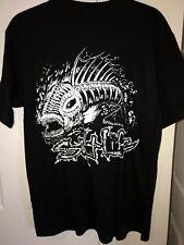 Salt Life Men's Pocket Tee - Skull Fish / Black Medium - NWT