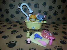 Littlest Pet Shop LPS Original Christmas Gift Lot Short Hair #73 #74 Kitty Cats