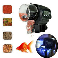 Adjustable Automatic Aquarium Timer Auto Fish Tank Pond Food Feeder Feeding  lc