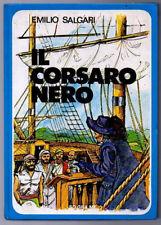 IL CORSARO NERO di Emilio Salgari Editrice So.Gra.Me. 1980