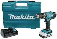Makita G-Series HP457 1.5Ah Cordless Hammer Drill 16 Torque 1400rpm – 18V