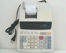 Sharp El-1197P 12-Digit 2 Color Multi-Funct. Adding Printing Desktop Calculator