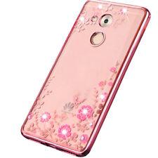 Custodia cover Luxury Diamond pr Huawei Nova Smart Honor 6C case TPU brillantini