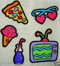 Sandylion Retro Artsy Food TV Scrapbooking Vintage Stickers. **FAST SHIP** G07