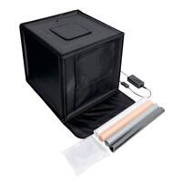 PIXAPRO 70cm x 70cm x 70cm Foldable LED Light Tent for Product Photography