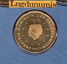 Pays Bas 2002 - 20 Centimes D'Euro  FDC provenant coffret 105000 exemplaires