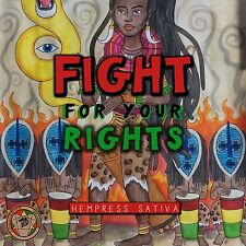 "Hempress Sativa - Fight For Your Rights Picture Sleeve 7"" Vinyls"