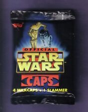 1995 Topps Official Star Wars Caps Milkcaps Slammer POGS Pack