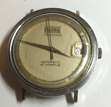 Vintage Vulcain Centenary Men's Automatic Watch 21 Jewels Running Silver Wrist
