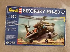 HH-53 C Sikorsky - USAF Vietnam 1971 - USAF England 1986 - Revell -  1/144