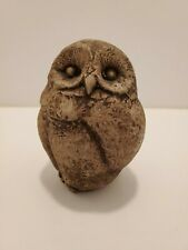Vintage Owl lawn decor yard stone antique landscaping 5 Inches