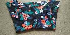 Old Navy Pixie Pants, size 12, multi floral, NWT