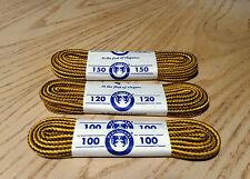 lacci stringhe per scarpe tipo Timberland giallo/marrone varie misure