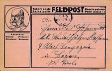 Nr 16378 PK  K.u.K.Feldpost 1916 nach Bozen Kaiser Franz Josef