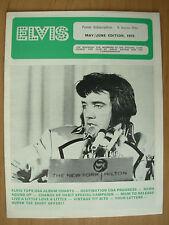 ELVIS PRESLEY FAN CLUB MAGAZINE MAY / JUNE 1973
