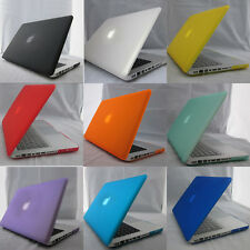 "Rubberized Case for MacBook New White 13"" 13.3"" A1342 Apple 10 Colors Hard Cover"
