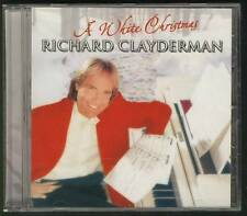 RICHARD CLAYDERMAN A White Christmas 2003 CD DUTCH DISKY PICT DISC