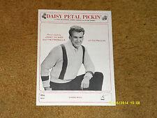 Jimmy Gilmer & Fireballs sheet music Daisy Petal Pickin' 1964 4 pages (NM shape)