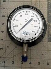 4� / 0-160 Psi Liquid Compound Isolator Pressure Gauge Chemical Seals New [E1Tp