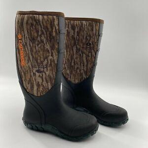 Lacrosse Men's Mossy Oak Bottomland Camo Hunting Boots Waterproof #200071 5mm 10