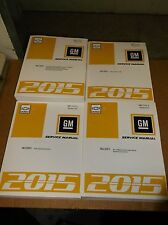 2015 Chevy SS Sedan~Factory Service~Shop~Repair Manual~15~Chevrolet~Like Caprice