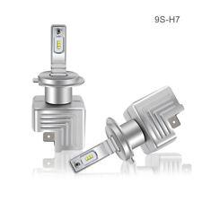 2x 9S H7 40W 6000LM LED High Power Car Truck Xenon White Headlight Fog light