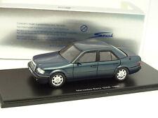 Spark 1/43 - MERCEDES 500E W124 1986 bleu / vert