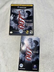 GameCube Replacement Case & Manual Only NO GAME  007 Everything or Nothing