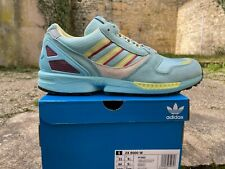 ADIDAS ZX 8000 W Blue Aqua OG Torsion 44 UK 9,5 Hazy Sky Sneakers FY3593