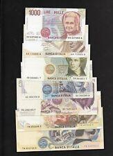 Riproduzione Banconota 1000-2000-5000-10000-50000-100000-500000 Lire Italiane