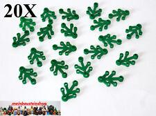 20X Lego®  Pflanze, Blätter, Plant Leaves, Grün, Green, 4X3, klein, 242328 NEU