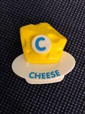 Vtech ABC Food Fun Fridge Phonics Replacement C Cheese Magnet Educational