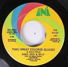 Rock 45 Dino, Desi & Billy - Thru Spray Colored Glasses / Someday On Uni