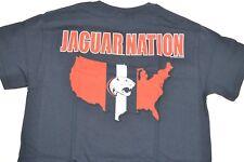 NCAA South Alabama Jaguars ADULT Jaguar Nation 2-Sided T-Shirt Navy, XL New
