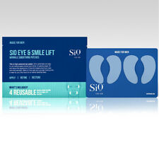 SIO Eye & Smile Wrinkle Smoothing 4 Patches for Men Reusable Anti-aging SkinCare
