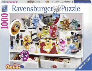 Ravensburger 19645 Puzzle Gelinis im Schönheitssalon 1000 Teile 70 x 50 cm
