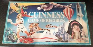 THE GUINNESS GAME OF RECORDS BOARD GAME COMPLETE BY THE GAMES TEAM 1980'S
