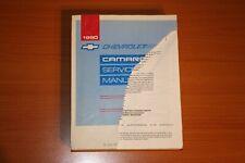 1990 Chevrolet Camaro Factory Service Manual St 368-90
