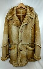 Vintage Marlboro Man Style Leather Coat/Jacket By The Leather Shop Sears Reg 44