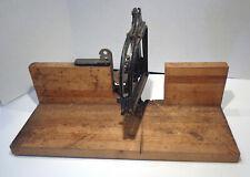 Vintage Sears, Roebuck & Co. Dunlap Tools Adjustable Mitre Box!